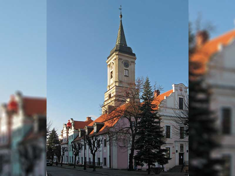 Ratusz w Byczynie / Mareksilarski at Polish Wikipedia / Wikipedia / CC BY 2.5