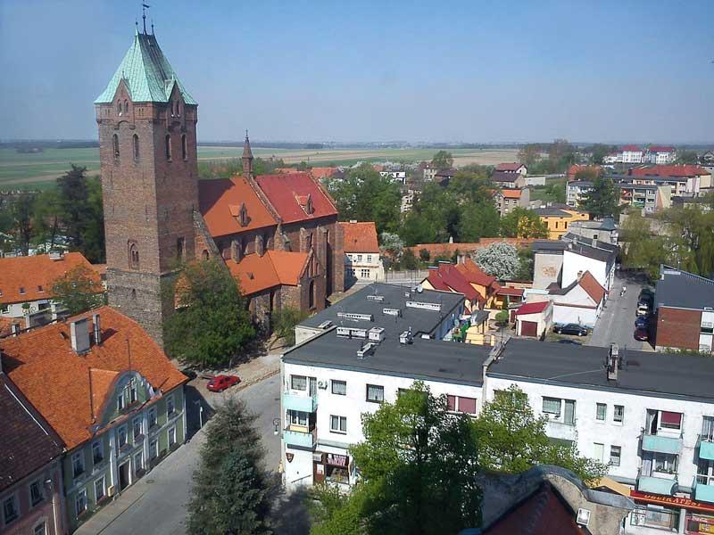 Widok z wieży ratuszowej / MOs810 - Praca własna / Wikipedia / CC BY-SA 3.0