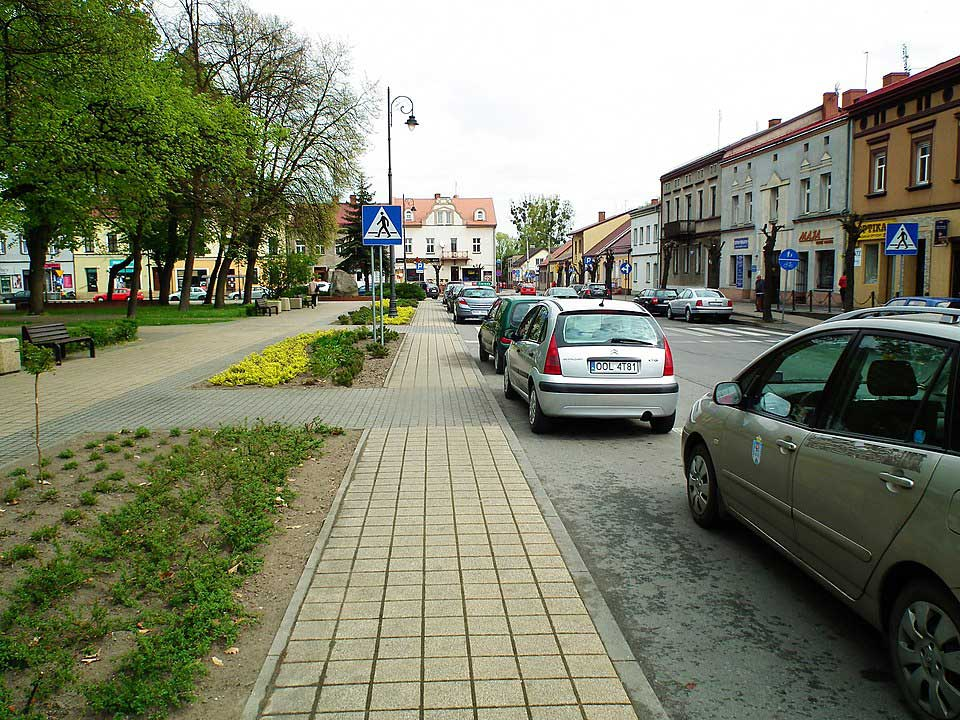 Fragment Rynku - Praszka / MOs810 - Praca własna / Wikipedia / CC BY-SA 4.0