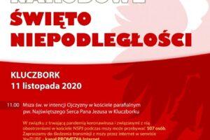 Zaproszenie na powiatowe obchody 102. Rocznicy Odzyskania Niepodległości!