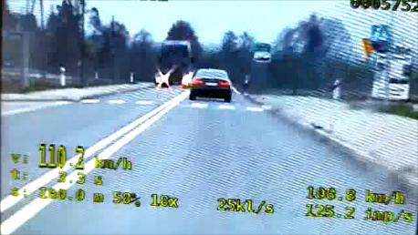 Przekroczył prędkość o 60 km/h. Stracił prawo jazdy na trzy miesiące!