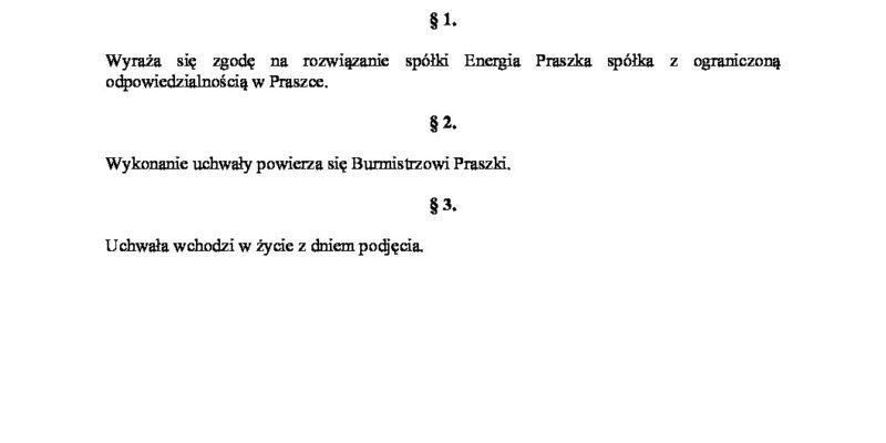 XXVI/2021 Sesja Rady Miejskiej w Praszce