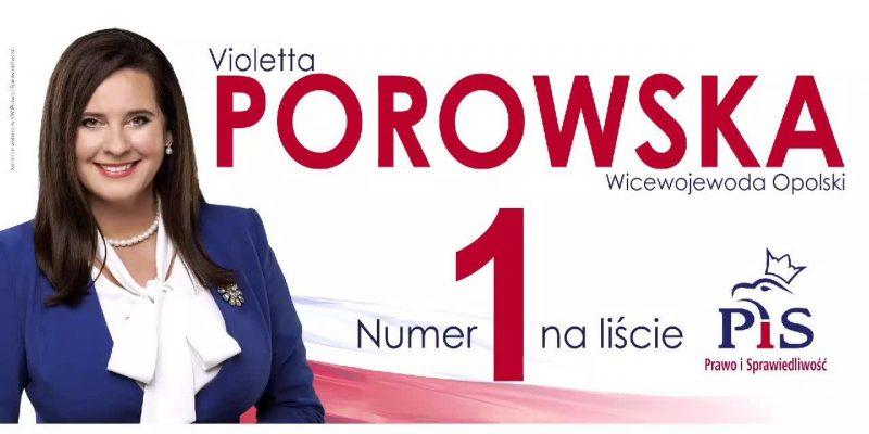 Poseł Violetta Porowska jest jedną z wnioskodawczyń ustawy ws. odmowy przyjęcia mandatu nałożonego przez Policję
