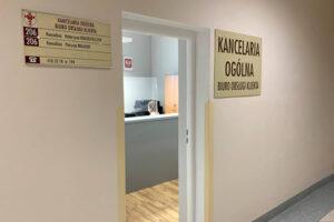 Zmiana lokalizacji Kancelarii Ogólnej i Biura Obsługi Klienta w  Starostwie