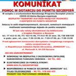 Transport do punktu szczepień w gminie Byczyna – nowy numer telefonu