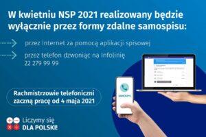 Jak wziąć udział w spisie NSP 2021