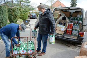 Ponad 1,5 tony darów dla naszego DPS-u
