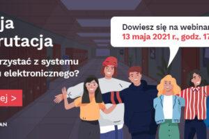 Webinar dla ósmoklasistów – rekrutacja