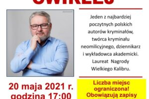 Spotkanie autorskie z Ryszardem Ćwirlejem w bibliotece