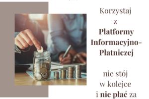 Płać za pomocą platformy PLIP bez opłaty za przelew