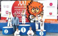 sukcesy kluczborskich karateków