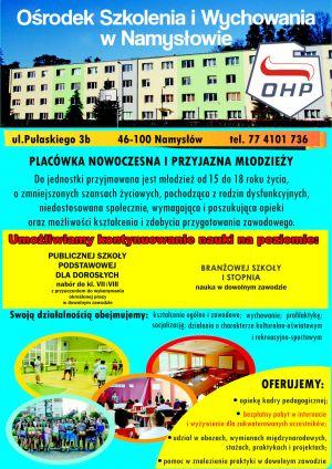 Rekrutacja do OWK OHP