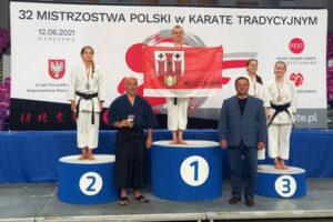 Nasi karatecy z medalami na Mistrzostwach  Polski i Pucharze Dzieci