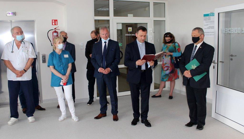 Uroczystość otwarcia oddziału pediatrii w oleskim szpitalu