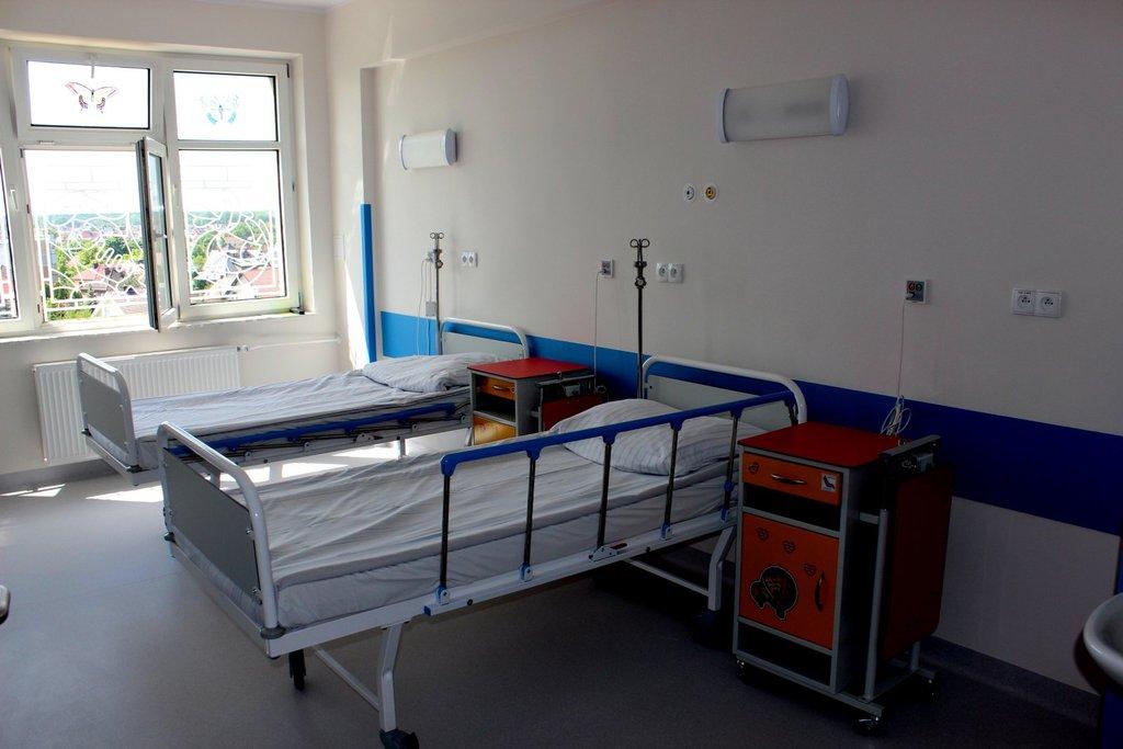 Wyremontowana sala szpitalna