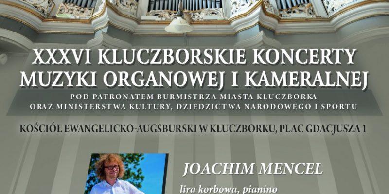 Zapraszamy na koncert Muzyki Organowej i Kameralnej do Kluczborka