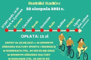 XXVIII Integracyjny Rajd Rowerowy Rudniki-Radłów