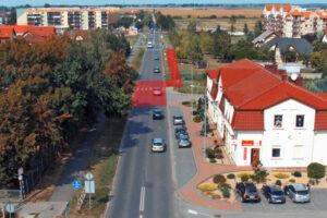 Inwestycja powiatu na ul. Jagiellońskiej