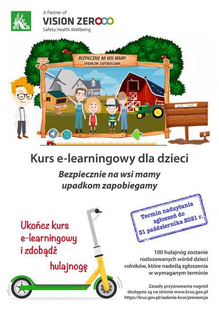 Plakat kursu e-lerning 2021