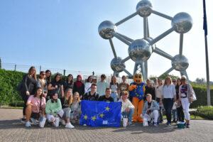 Młodzież ZSL-T w Brukseli