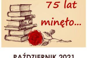 Wystawa z okazji 75-lecia biblioteki